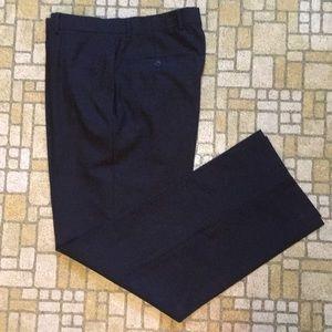 Brooks Brothers 346 men's gray wool dress slacks